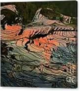 Rice Terrace Canvas Print