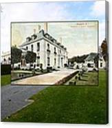 Richard Gambrell Residence In Newport Rhode Island Canvas Print