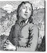 Richard Hurst  Catholic, Hanged Canvas Print