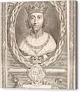 Richard II Canvas Print