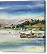 Richardson Bay Marin Canvas Print