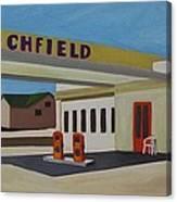 Richfield Gas Station Canvas Print