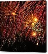 Richmond Fireworks Canvas Print