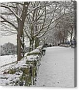 Richmond Hill Snow Canvas Print