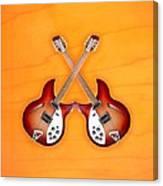 rickenbacker 12-S guitar Canvas Print