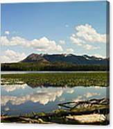 Riddle Lake Canvas Print