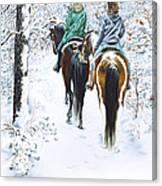 Ride Into Faerieland Canvas Print