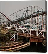 Ride The Roller Coaster Canvas Print