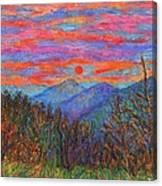 Ridgeland Winter Beauty Canvas Print