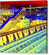 Ridin The Rails Canvas Print