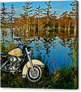 Riding The Mississippi Delta Canvas Print