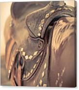 Riding The Saddle Again Canvas Print