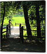 Riding The Trails Canvas Print