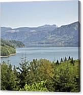 Riffe Lake Canvas Print