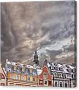 Riga Architecture Canvas Print
