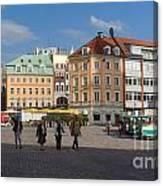 Riga Old Town 3 Canvas Print