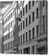 Riga Soviet Architecture 01 Canvas Print