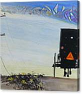Right Of Way Canvas Print