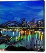 Right Place Right Time Canvas Print
