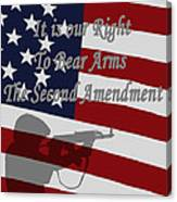 Right To Bear Arms Canvas Print