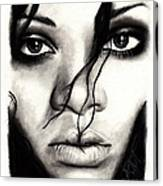 Rihanna Canvas Print