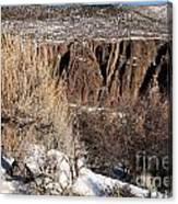 Rim Of The Black Canyon Canvas Print