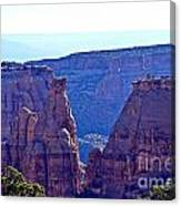 Rim Rock Colorado Canvas Print