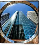 Ring Of Trust - Wells Fargo Plaza Canvas Print