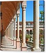 Ringling Museum Gardens Canvas Print