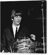 Ringo Starr, Beatles Concert, 1964 Canvas Print