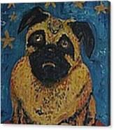 Ringodog Canvas Print