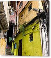 Rio De Janeiro Brazil -  Favela Housing Canvas Print