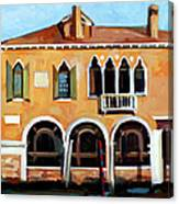 Rio Del Malcanton Canvas Print