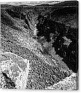 Rio Grande Gorge - Taos New Mexico Canvas Print