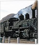 Rio Grande Railway Baldwin Built In 1903 No. 464 Circa 1955 Canvas Print