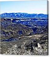 Rio Grande River Canyon-arizona Canvas Print