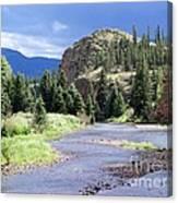 Rio Grande River Landscape Canvas Print
