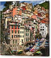 Rio Maggiore Marina Canvas Print