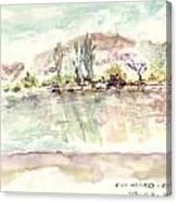 Rio Negro Canvas Print