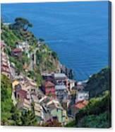 Riomaggiore, Cinque Terre, Italy Canvas Print