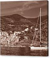 Riomaggiore Cinque Terre Canvas Print