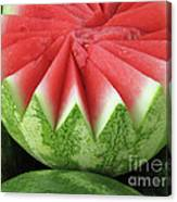 Ripe Watermelon Canvas Print