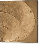 Ripples Of The Ceiling Canvas Print