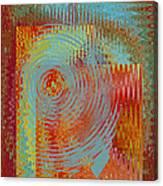 Rippling Colors No 2 Canvas Print