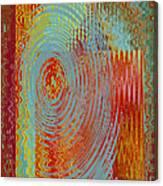Rippling Colors No 3 Canvas Print