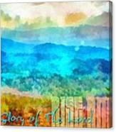 Rise Among Us Canvas Print
