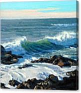 Rising Surf Canvas Print
