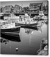 Risky Business After Five Bw Canvas Print
