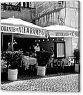Ristorante Alla Rampa Canvas Print