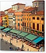 Ristorante Olivo Sas Piazza Bra Canvas Print